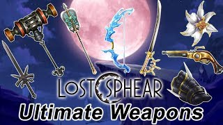 Lost Sphear - Ultimate Weapon Guide [PS4 Pro]