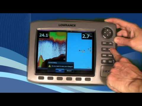 Lowrance Lessons - HDS Data Overlay