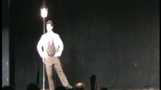 "Carter Lynch performs ""Leaning on a Lampost"" in the College Light O..."