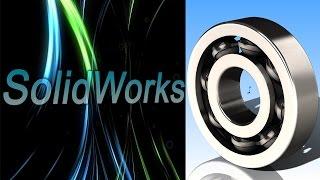 SolidWorks. Подшипник. (Урок 7) / Уроки SolidWorks
