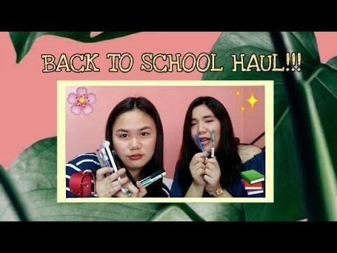 BACK TO SCHOOL HAUL  Karen Kaye ft. Meesha
