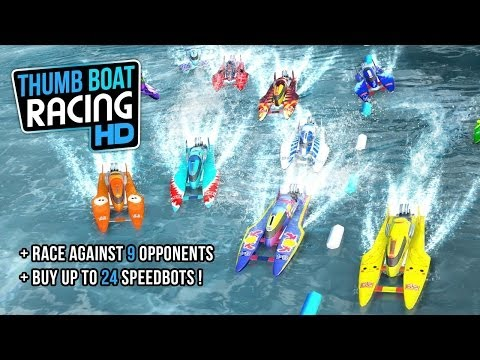 Thumb Boat Racing Android GamePlay Trailer (HD) [Game For Kids]