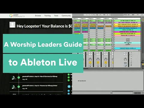Intro to Ableton Live for Worship Leaders