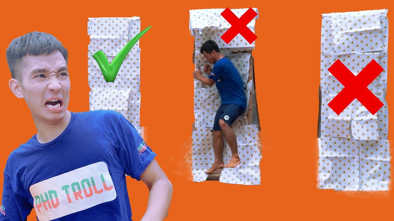 Chọn Đúng Cánh Cửa Để Tồn Tại | Choose The Right Door To Survive | PHD Troll