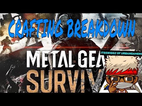 Metal Gear Survive (BETA) // 1st impressions / Single Player / Crafting BREAKDOWN