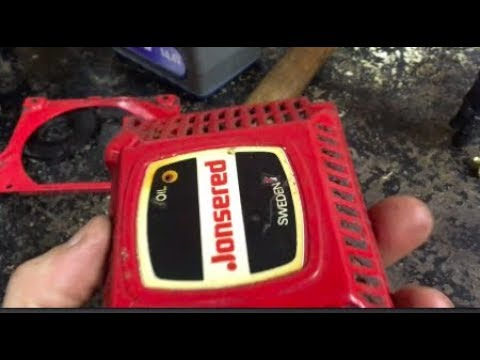 Fixing The Pull Cord On A Jonsered 520 Sp Chainsaw