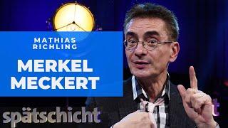 Mathias Richling: Merkel verlässt das sinkende Schiff | SWR Spätschicht