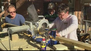 Faith-based-group gives residents free home improvements