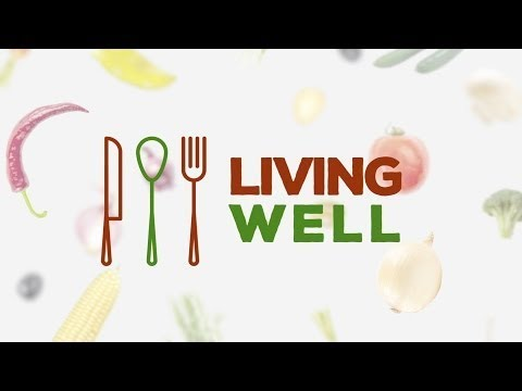 Living Well #15 - Collard Greens on Baked Potato - Marcie Hronis