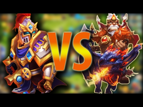 Which Is Worse, Paladin Or Dacax? -CASTLE CLASH