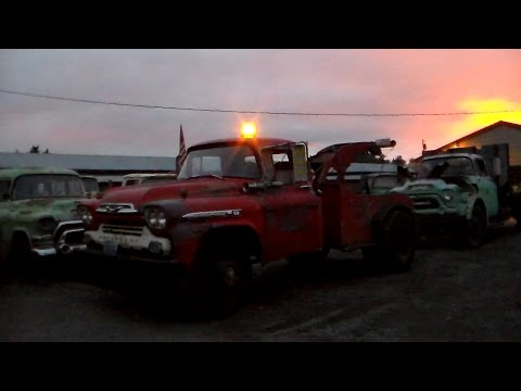 "1959 Chevy Viking 60 Tow Truck ""Homer"" Part 2"