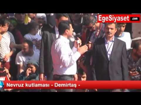 Selahattin Demirtaş'tan İzmir Nevruz Kutlamasında Anlamlı Mesaj