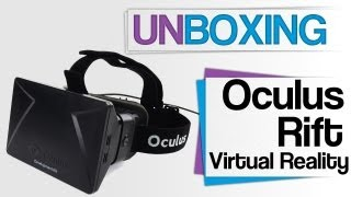 Oculus Rift Developer Kit - Unboxing - german / deutsch