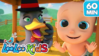 Goosey Goosey Gander - The BEST SONGS for Kids | LooLoo Kids