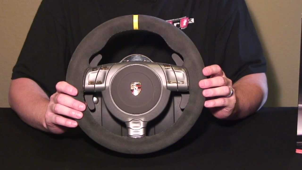 Review of the Fanatec GT3RS V2 wheel - YouTube
