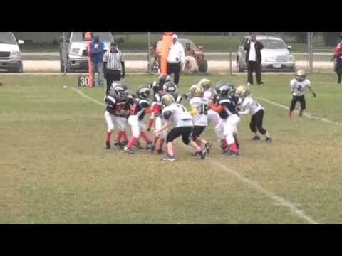 UNION MM FOOTBALL SAINTS VS BRONCOS WEEK 7 SEPTEMBER 29 2012  1ST / 2ND GRADE 5 6 AND 7 YEAR OLD
