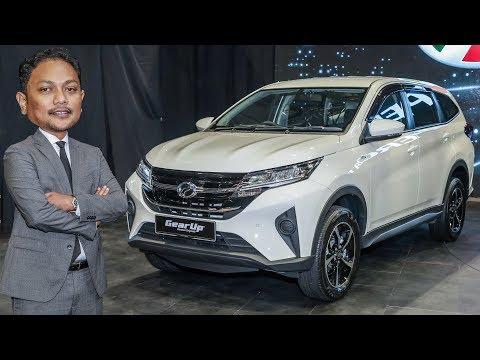 TINJAUAN AWAL: 2019 Perodua Aruz SUV di Malaysia - RM73k-RM78k