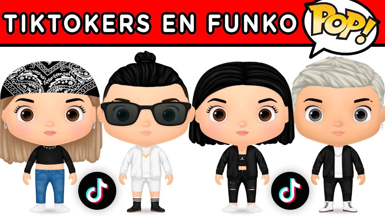 ADIVINA EL TIKTOKER VERSION FUNKO POP | TIKTOKERS EN CARICATURA | YOU OCIO