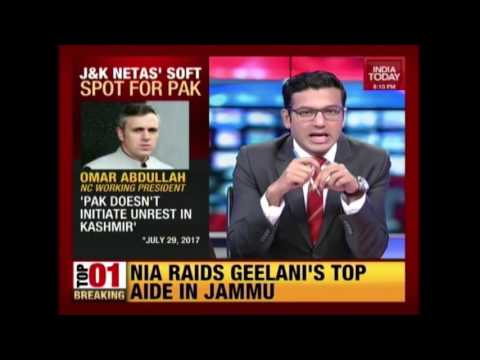 Omar Says Don't Blame Pakistan For Jammu And Kashmir Unrest