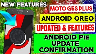 Android Oreo Update For Moto G5s Plus 8.1.0 & New Features || Android P Update For Moto G5s Plus