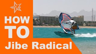 Windsurfing Tutorial How t๐ Jibe - Carve Jibe / Laydown Jibe / Race Gybe technique