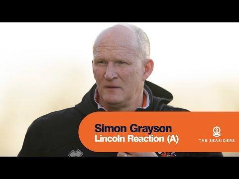 Lincoln Reaction (A) Simon Grayson