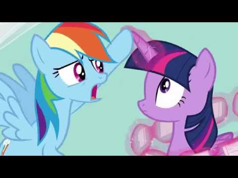 Rainbow Dash ~ No rapping, no cards, no costumes, no play... and NO APPLES!