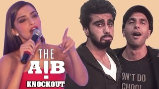 AIB Knockout CONTROVERSY | Sonam Kapoor REACTS On Brother Arjun Kapoor's VIDEO