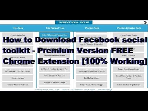 facebook social toolkit premium license key free