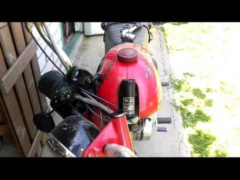 Сборка передней вилки мотоцикла Минск Лидер - YouTube