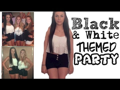 Ootn Black White Themed Party Youtube