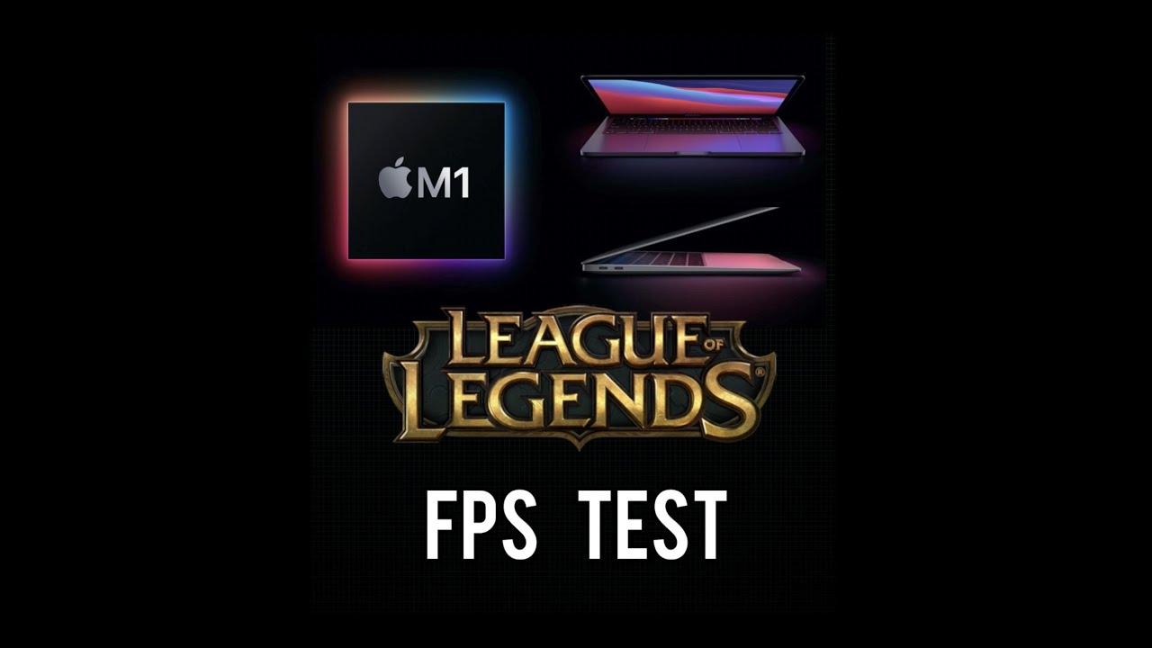 2021 MacBook Air M1 Game FPS Test (League of Legends ...