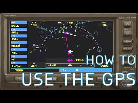 FSX How to Use the GPS | Flight Plan + Approach Set-Up