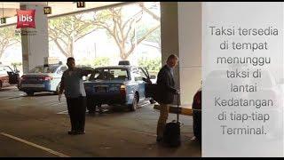 Dari Terminal Bandara Changi ke Hotel Anda di pusat kota Singapura.