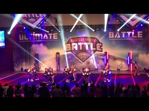 Rockstar Cheer Rolling Stones The Ultimate Battle 2017