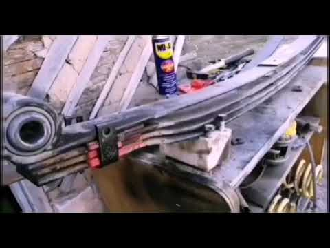 Доработка четырёх листовых рессор УАЗ Патриот