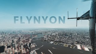Soaring Over Manhattan on a Doors-Off Helicopter Tour | FLYNYON