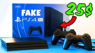 me compré una PS4 PRO FALSA en Aliexpress por 25$ ???? Unboxing PlayStation 4 pro CLON