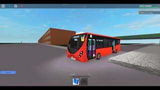 Roblox Londra Hackney & Limehouse bus Simulatore Wright Streetlite (euro 5) TT WL44700 sulla Route 236