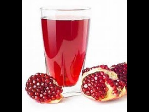 How to make pomegranate juice for baby