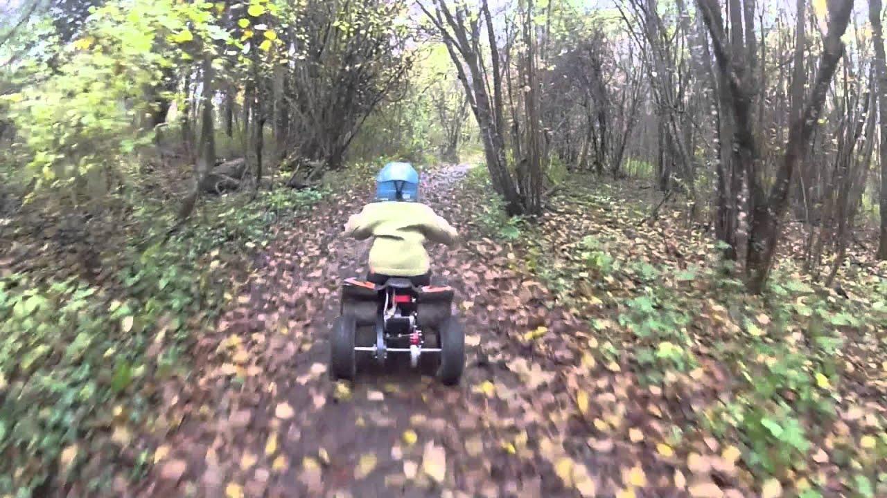 Jojo 2,5 ans en quad électrique 800W 36V - YouTube 8aa214de8f81
