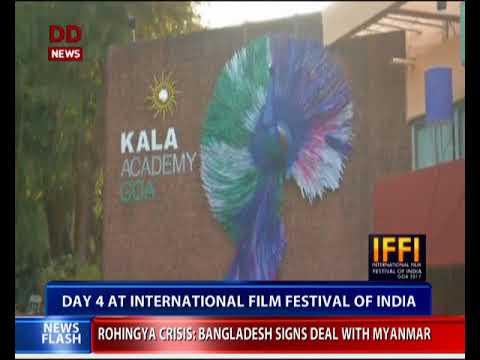 4th day of the International Film Festival Of India today