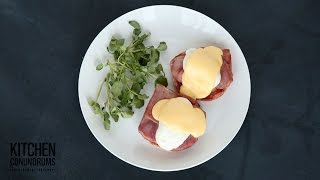 5-Ingredient Hollandaise Sauce Recipe - Kitchen Conundrums with Thomas Joseph