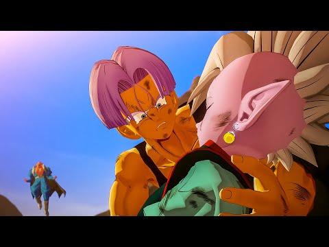Future Trunks Destroys Buu VS Dabura Full Fight (RIP to Beerus) DRAGON BALL KAKAROT DLC 3 Buu Saga