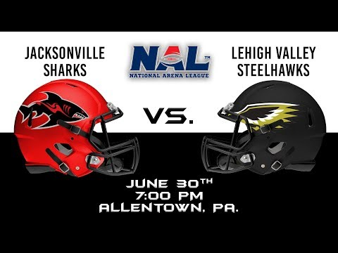 Jacksonville Sharks vs Lehigh Valley Steelhawks