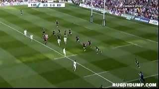 Tries in Europe 2011 2012 semi final Ulster - Edinburgh