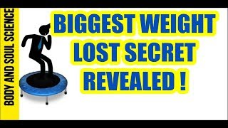 BIGGEST WEIGHT LOSS SECRET REVEALED I Lymphatic system drainage using rebounding