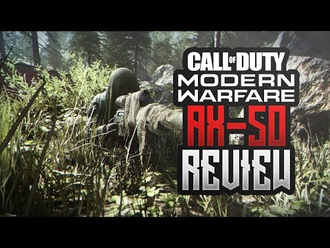 AX-50 REVIEW! | Call of Duty Modern Warfare | Deutsch | Verizon CoD