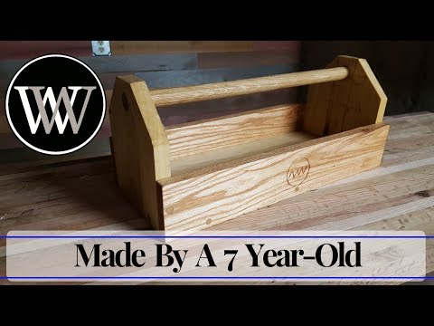 Making a Tool Box With My Daughter - Hand Tool Woodworking With Kids