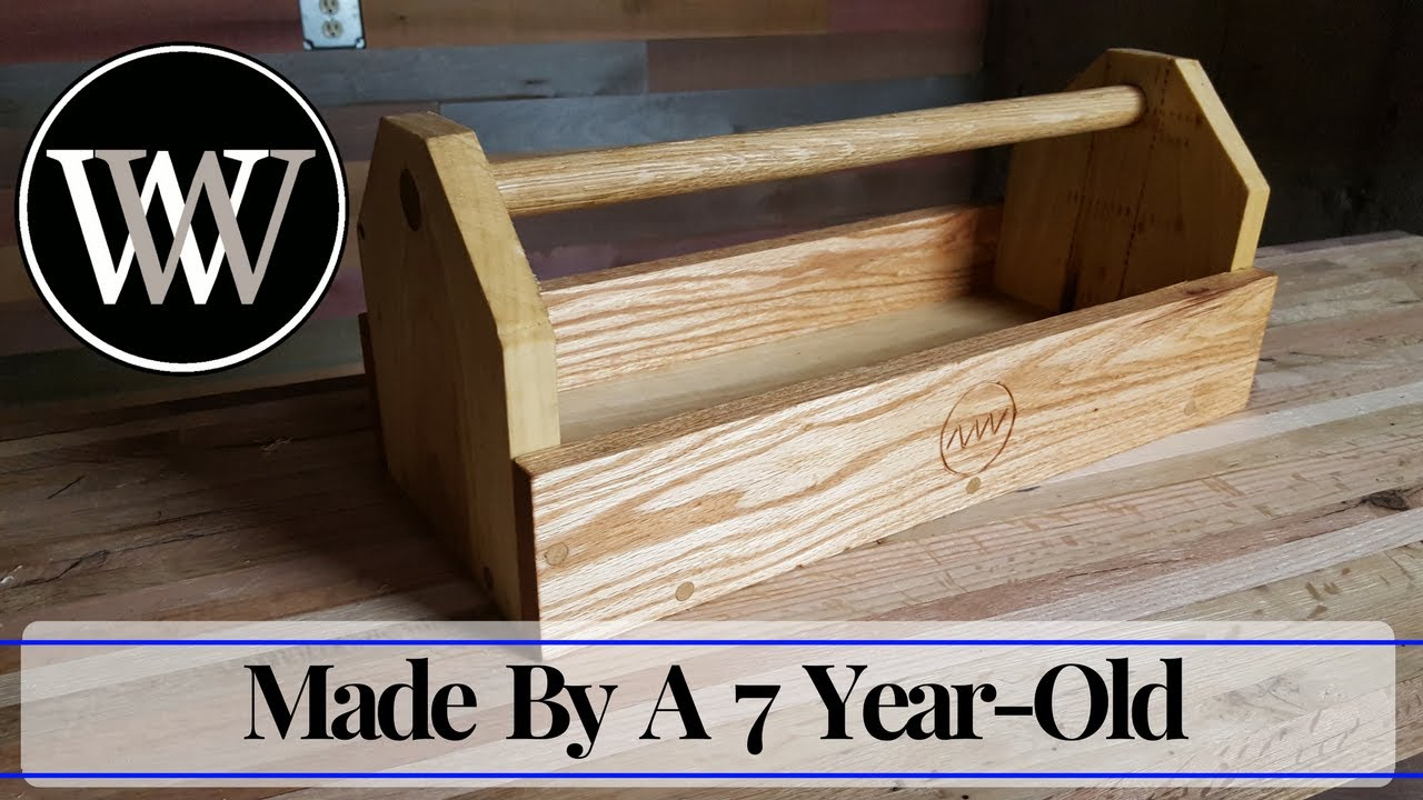 Making a Tool Box With My Daughter - Hand Tool Woodworking ...